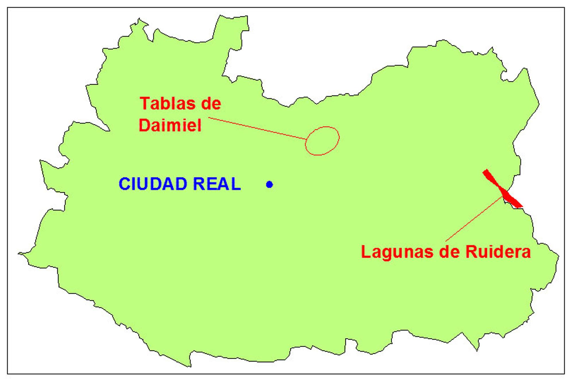 Tablas De Daimiel Mapa.Mis Lugares Favoritos Ii Ganando Barlovento