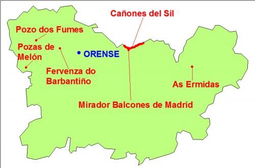 mapa orense