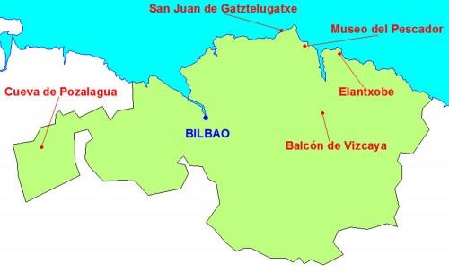 mapa vizcaya
