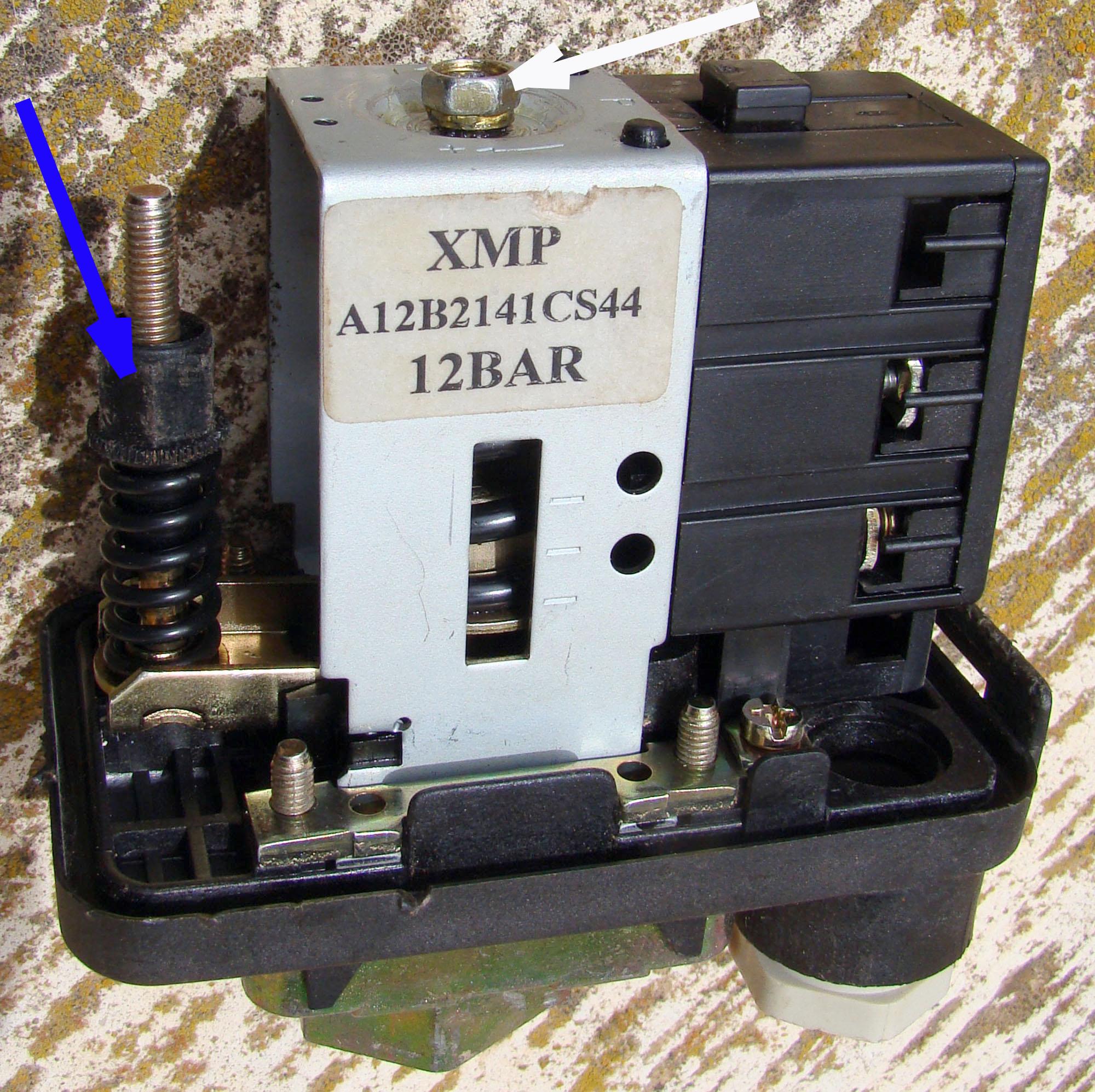 Reparaci 243 N De Un Presostato Telemecanique Xmp Ganando