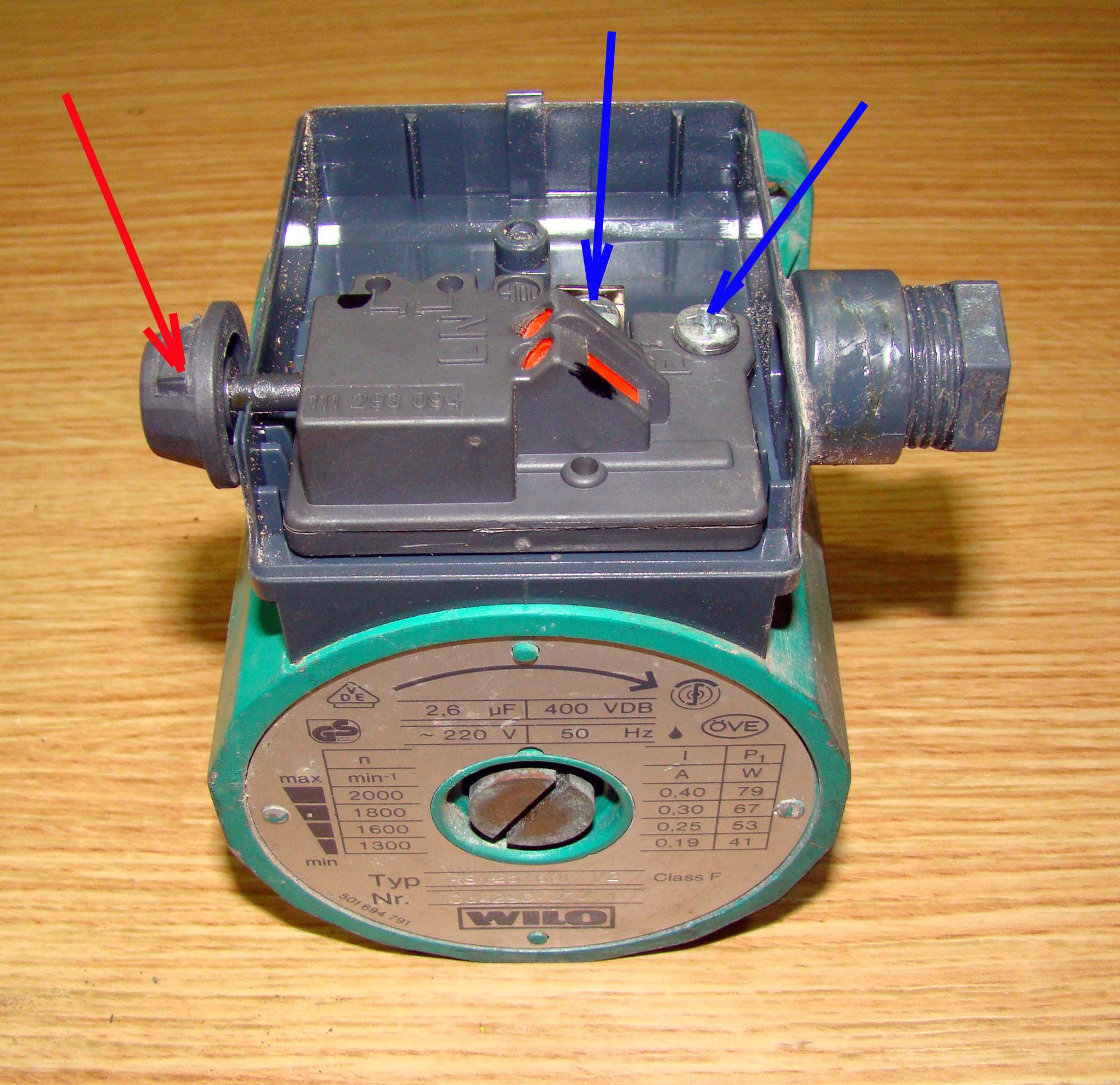 Reparaci n de la bomba de circulaci n para calefacci n for Bomba calefaccion gasoil