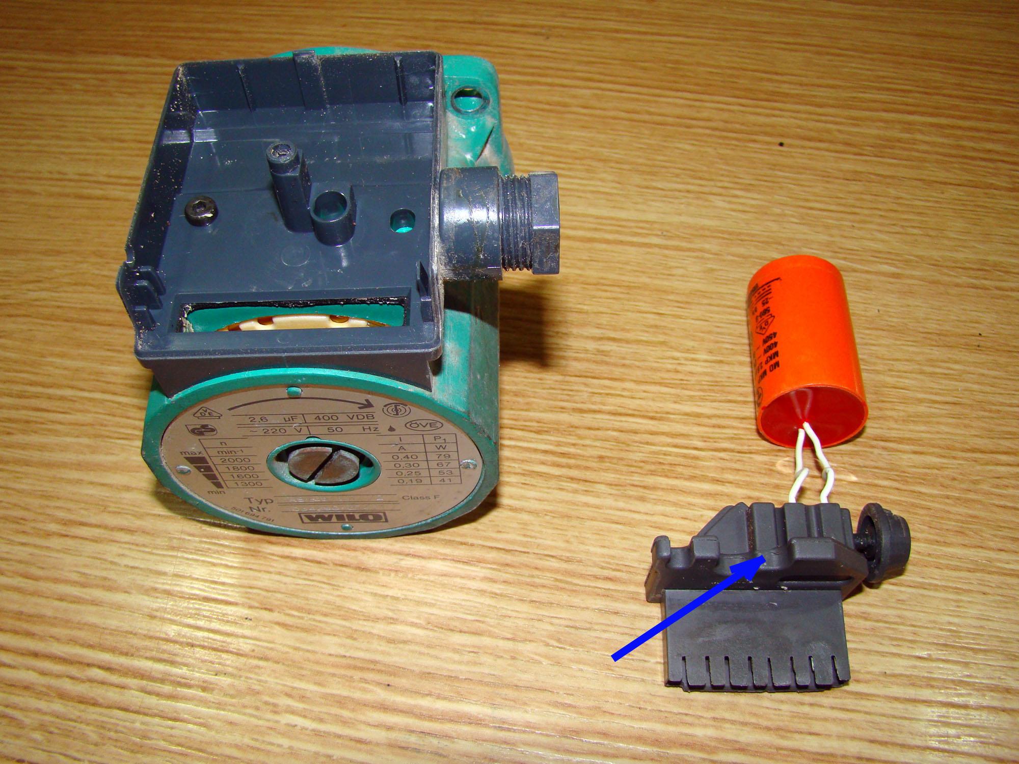 Reparaci n de la bomba de circulaci n para calefacci n for Bomba de calefaccion roca